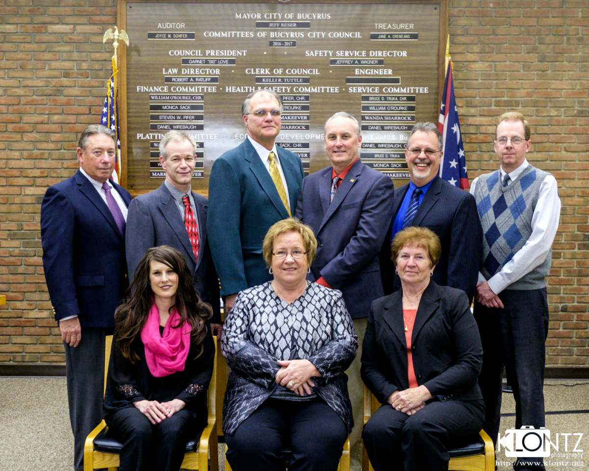Bucyrus City Council 2016