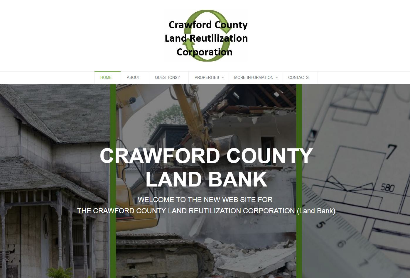 Crawford County Land Bank Website